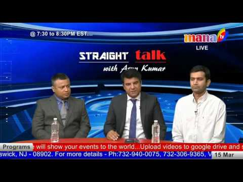 Straight Talk With Arun Kumar (03/15/2017) about recent elections results in India