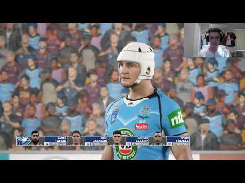 Clarkey Plays Rugby League Live 4 (Origin I + Top 8?)