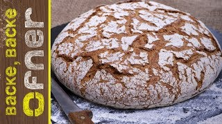 Steirisches Landbrot | Backe backe Ofner