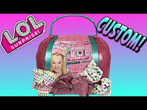 LOL BIGGER SURPRISE JoJo Siwa Custom LOL Surprise Dolls Big Surprise Ball JOJO D.R.E.A.M. LOL Doll