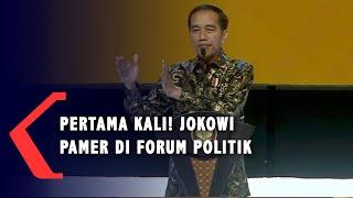 Pertama Kalinya! Jokowi Pamer Video Ibu Kota Baru di Forum Politik