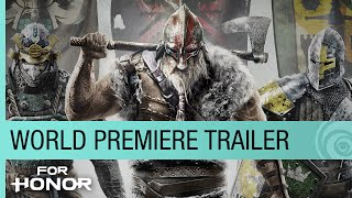 For Honor World Premiere Trailer - E3 2015 [US]