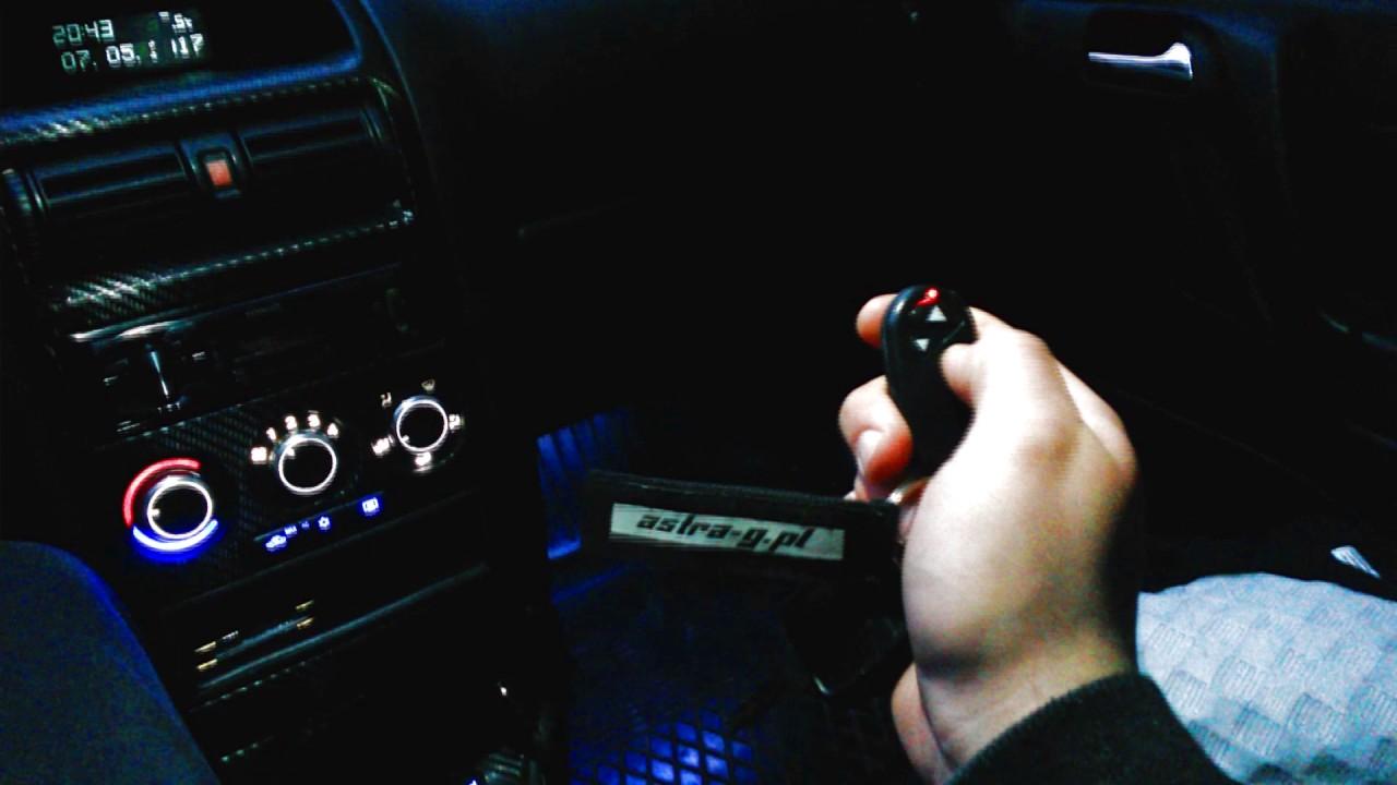 Ledowe Podświetlenie Nóg Opel Astra G