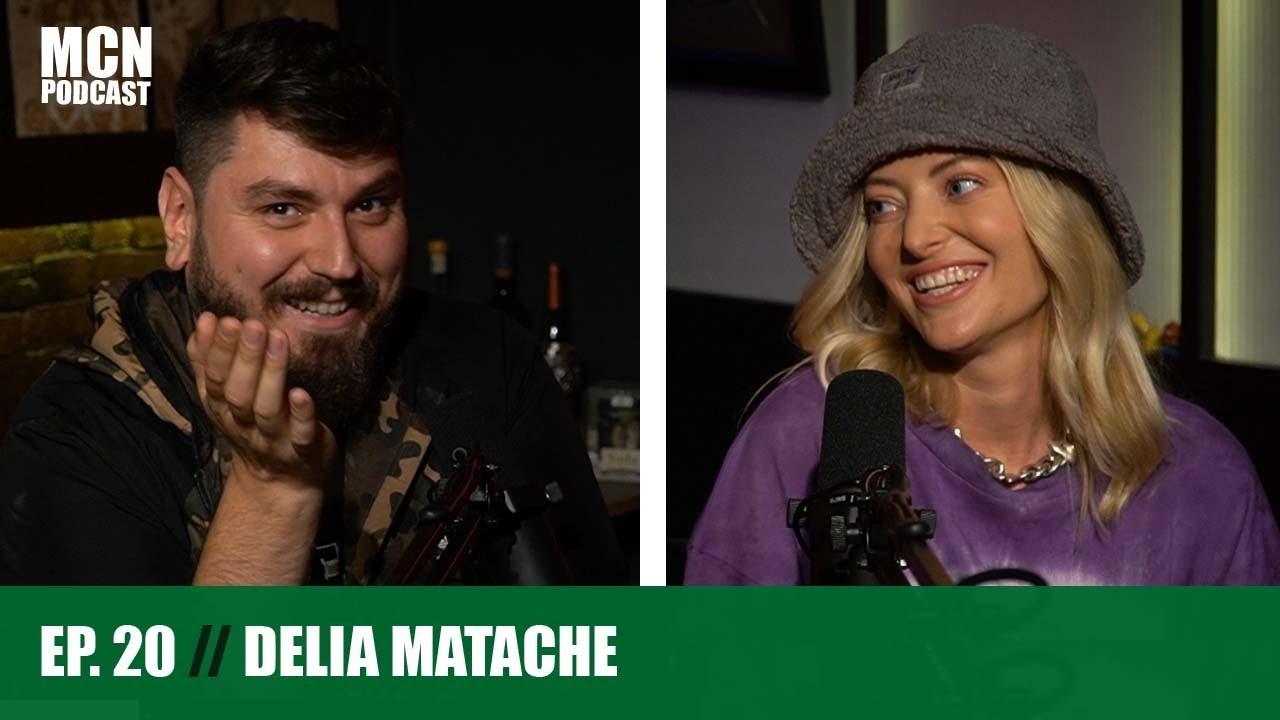 """M.C.N. Podcast 20   Delia: """"Nu e ok să fii iubit de toată lumea"""""""