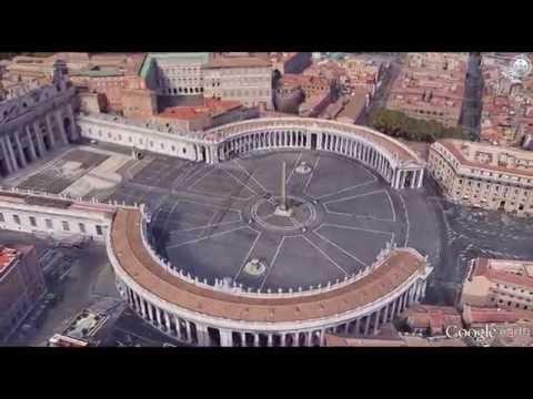 Rome City Tour: Google Earth Tour by GPS Track Log (Ver.2)