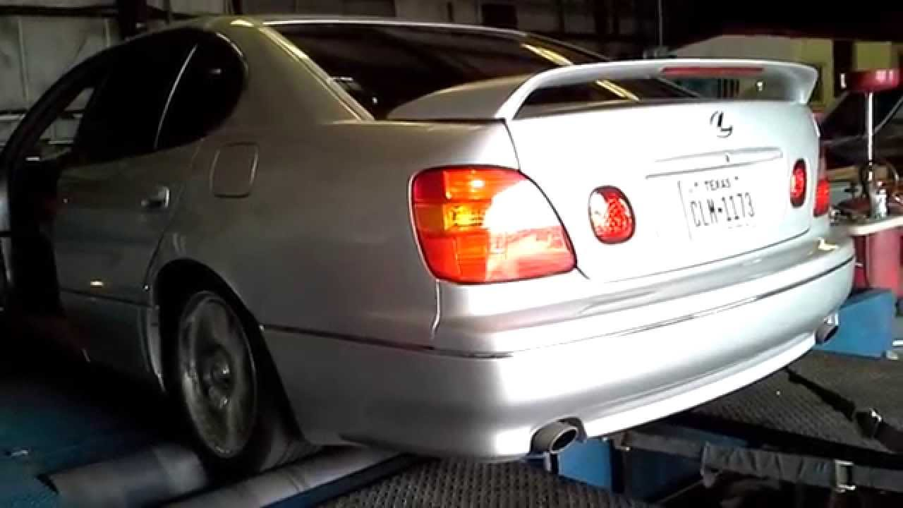 1998 lexus gs400 on the dyno exhaust sound with results  [ 1280 x 720 Pixel ]