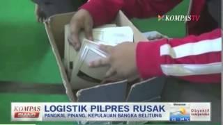 Logistik Pilpres Rusak - Kompas Siang 4 Juli 2014