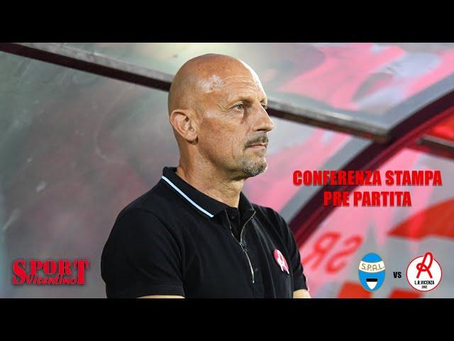 CALCIO - CONFERENZA STAMPA MIMMO DI CARLO, SPAL VS LR VICENZA