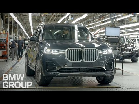 The X7 Road Trip Beings In BMW Plant Spartanburg.