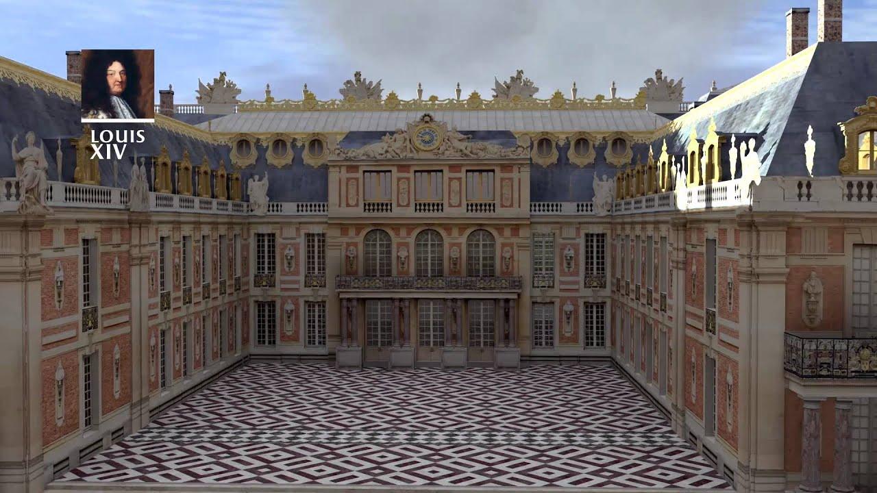 Reconstitution 3d construction du ch teau de versailles jusqu 39 la r volution fran aise youtube - Photo chateau de versailles ...