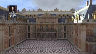 Reconstitution 3D: construction du château de Versailles jusqu