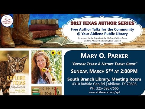 Author Mary O. Parker | March 2017