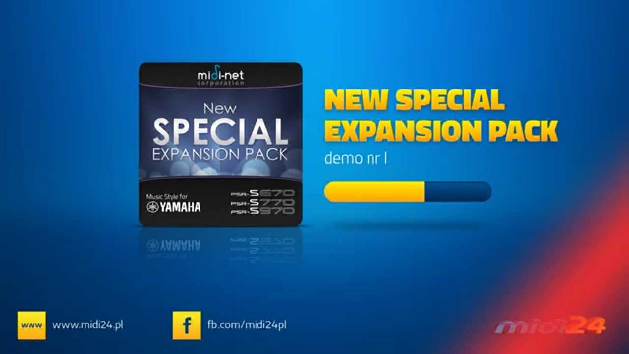 Style expansion pack for yamaha new special expansion for Yamaha expansion pack