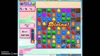 Candy Crush Level 257 Audio Talkthrough, 3 Stars 0 Boosters