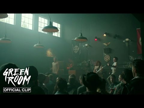Green Room l Nazi Punks l Official Clip HD | A24 streaming vf