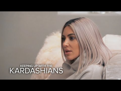 KUWTK | Kim & Khloé Find Out Kourtney Wont Be Home for Christmas | E!