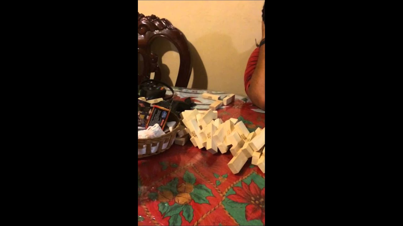 Epic Youtube Comment By Elson: Epic Fail Jenga