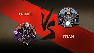 Shadow Fight 2 PRINCE VS TITAN