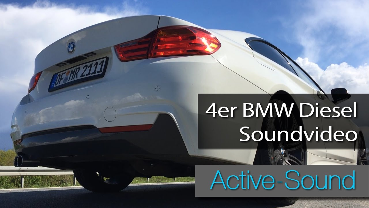 active sound 4er bmw soundvideo 435xd diesel youtube. Black Bedroom Furniture Sets. Home Design Ideas