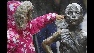 #Snowvember: Wintereinbruch in New York
