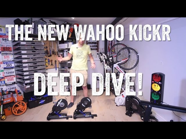 The New Wahoo KICKR 2016 Overview: What's new!