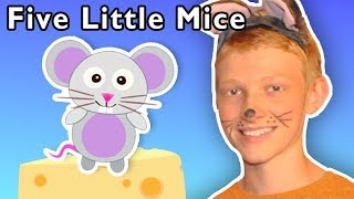 Five Little Mice + More | Mother Goose Club Playhouse Songs & Rhymes