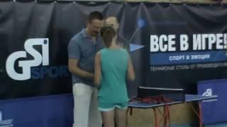 настольный теннис Одесса, GSI-2018, награждение кадетов