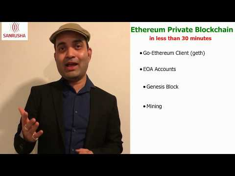 Create Ethereum Private Blockchain In Less Than 30 Minutes!