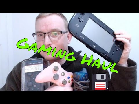 Gaming haul, New and retro video games