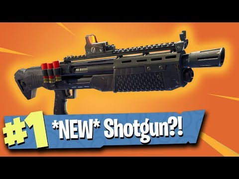 *NEW* Heavy Shotgun Gameplay - Fortnite Battle Royale
