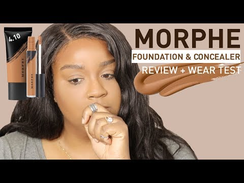 HMMM...MORPHE FOUNDATION, CONCEALER & POWDER REVIEW + WEAR TEST | itsagoldenlifestyle