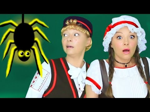 Thumbnail: Halloween Songs for Kids and Children - Ten Scary Steps to the Candy House
