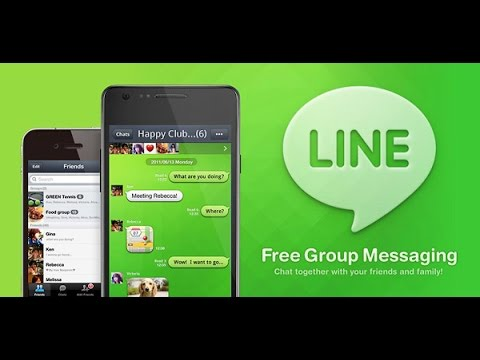 how to change line account