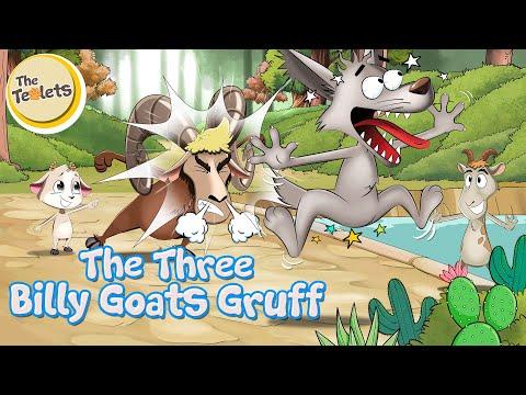 The Three Billy Goats Gruff I The Troll I Big Bad Wolf I Fairy Tales I Bedtime Stories I The Teolets