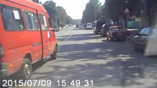 Кривой Рог.БЕСПРЕДЕЛ МАРШРУТКА 210(1)
