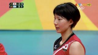 石井優希 Yuki Ishii Highlight in Japan vs Argentina 2016 Rio Olympic Women's Volleyball