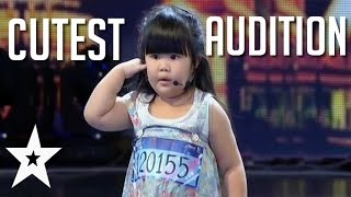 Is This The Cutest Audition Of All Time? | Got Talent Global