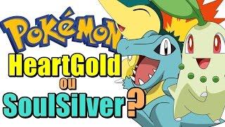 Pokémon HeartGold ou SoulSilver? - Qual Inicial Eu Devo Escolher?
