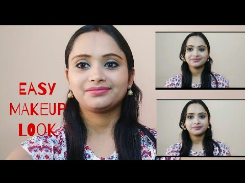 EVERYDAY EASY MAKEUP LOOK USING FEW  PRODUCTS#Makeup for beginners#makeup tutorial