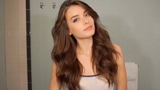 How to curl your hair! Victoria's Secret Style | Jessica Clements