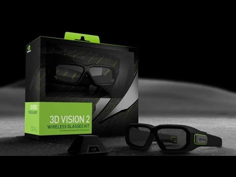 Распаковка Unboxing) NVIDIA GeForce 3D Vision 2 Wireless 3D Glasses Kit