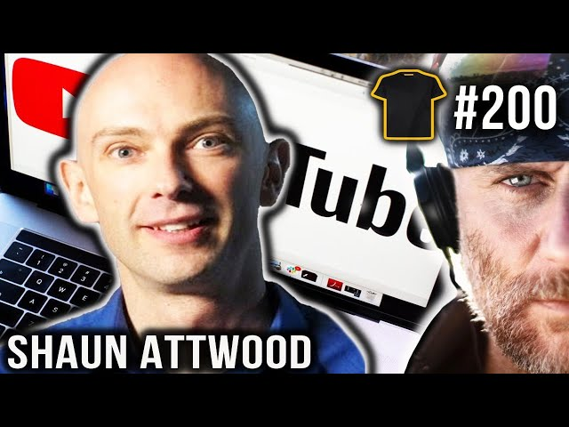 SHAUN ATTWOOD AND CHRIS THRALL   Bought The T-Shirt Podcast 200