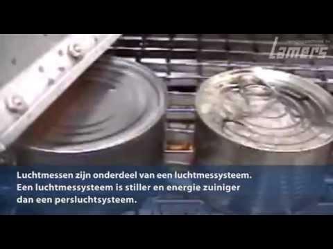 Luchtmes systemen / Droog- & afblaas technieken