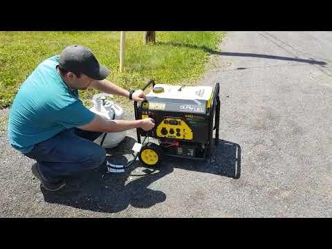 Champion 3550W/4450W Duel Fuel Generator - Jason's Testimonial