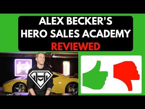 Alex Becker Hero Sales Academy Review