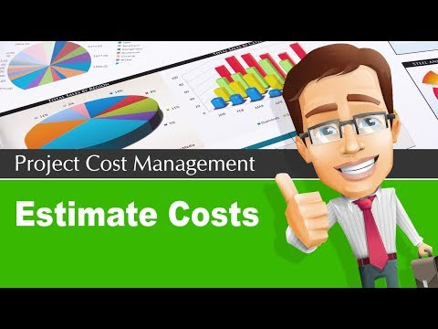 7.1 Estimate Project Costs Process | Project Cost Management Knowledge Area
