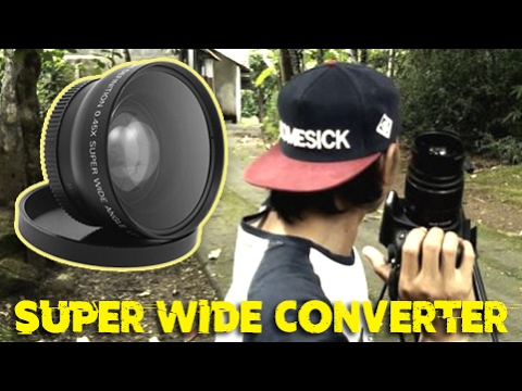 Tes Super Wide Angle Converter With Macro, Solusi Untuk Lensa Wide Tapi Low Budget