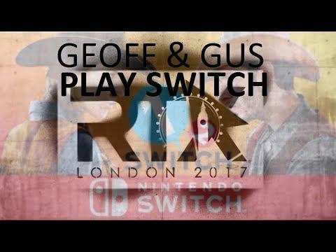 RTX London - Geoff and Gus Play Nintendo