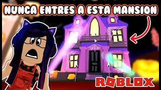 NEVER ENTER MEEPCITY'S HAUNTED MANSION IN ROBLOX Kori
