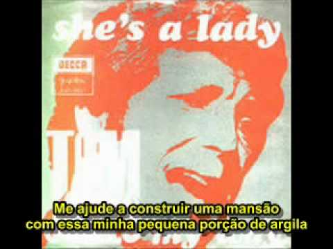 Tom Jones - She's a Lady (legendado)